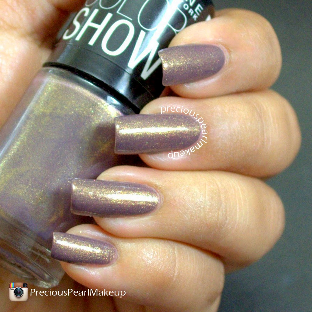 preciouspearlmakeup: Maybelline Color Show Nail Lacquer Buried Treasure
