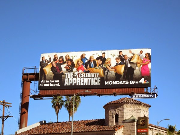 NBC Celebrity Apprentice S14 billboard