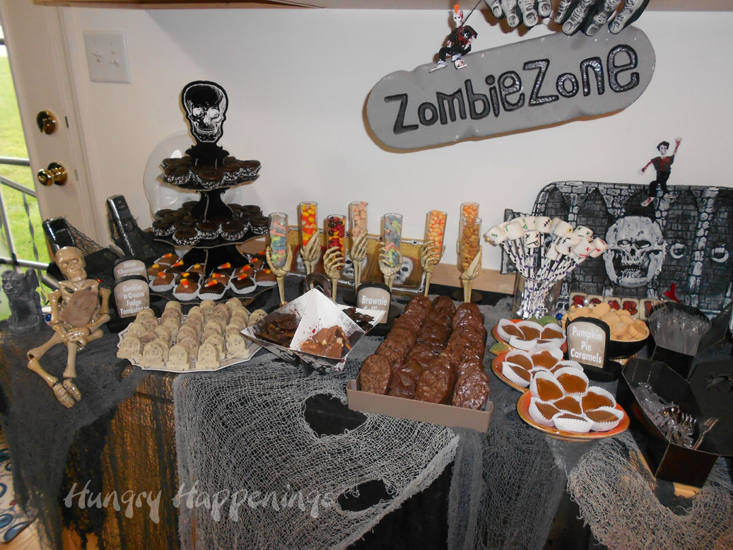 Hungry Happenings: Happy Halloween! Our zombie themed party was so ...