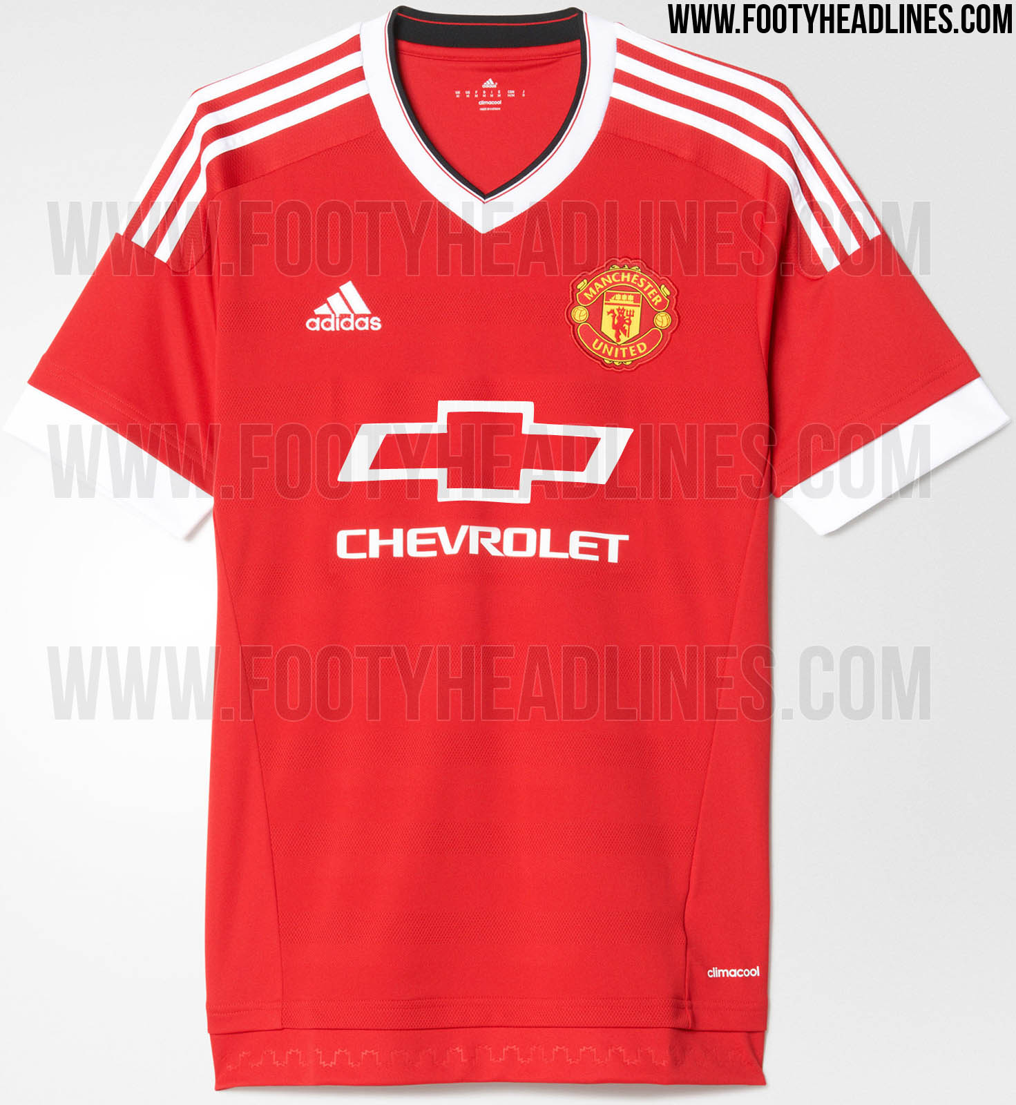 Adidas Manchester United 1516 Kit with Classic Sponsors  Footy