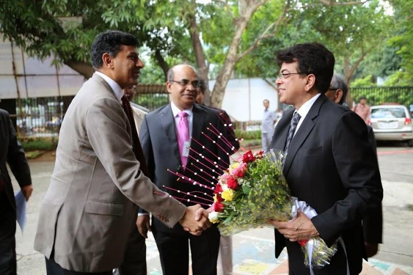 RBI Governor Raghuram Rajan at DDK Mumbai