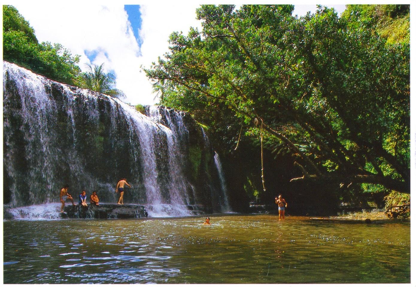 postcard, guam, talafofo river