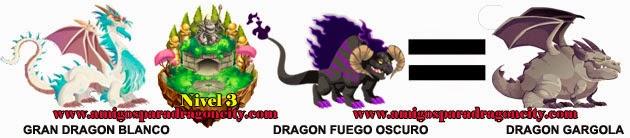como obtener el dragon gargola en dragon city formula 3