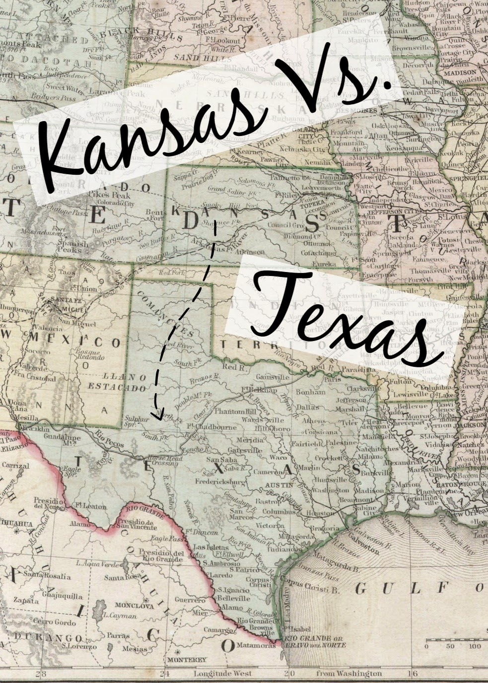 Kansas vs. Texas - Seekingthesouthblog.blogspot.com