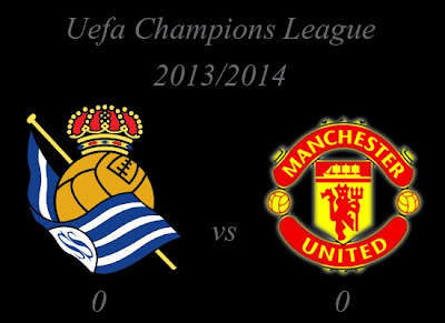 Real Sociedad vs Manchester United Result November 2013