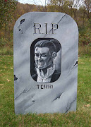Here is the tombstone for my wife