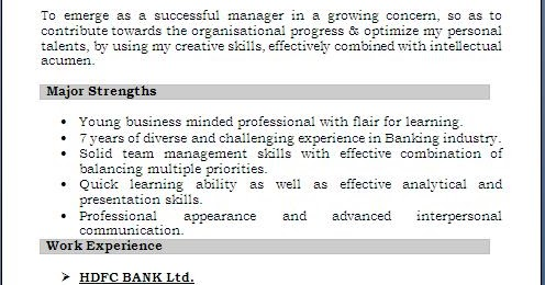 personal strengths for cv