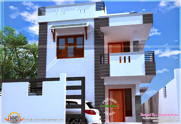 Small Villa With Floor Plans Home Kerala