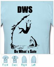 Climbing T-shirt - Deep Water Soloing