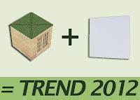 Gartenhaus Trend 2012