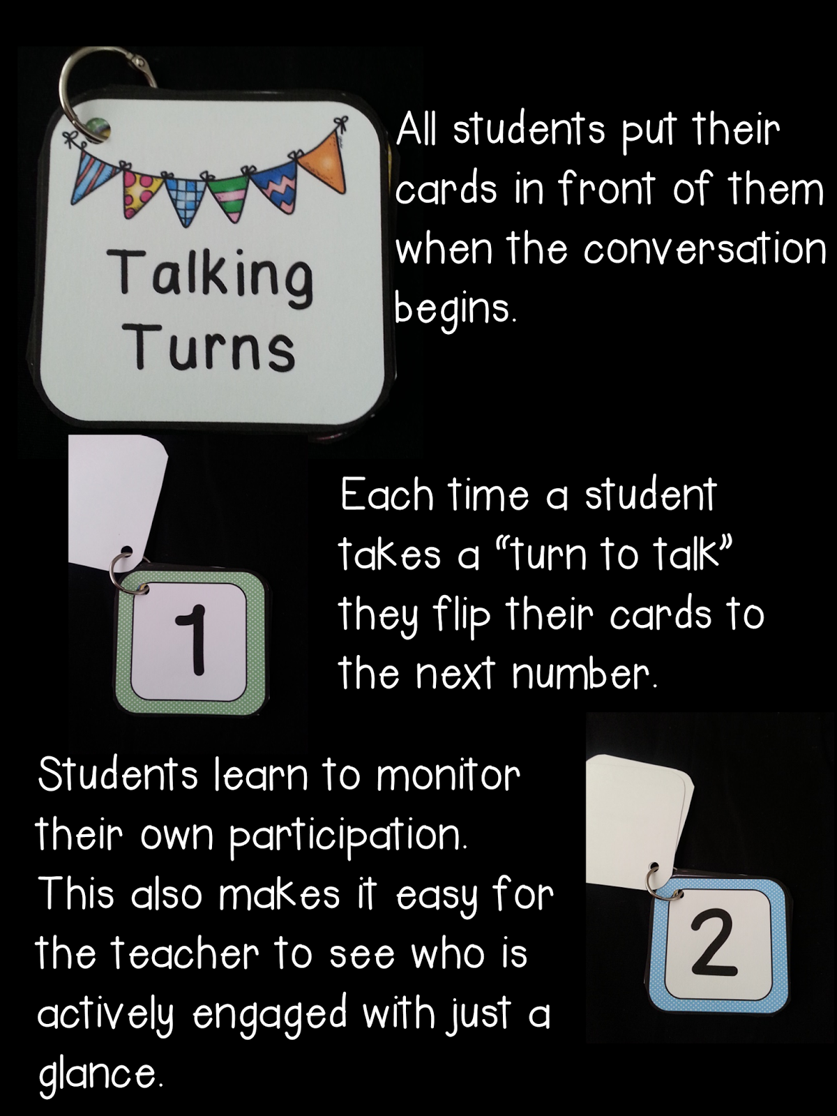 https://www.teacherspayteachers.com/Product/Talking-Turn-Cards-Tools-for-Speaking-and-Listening-and-Conversation-Circles-1447827