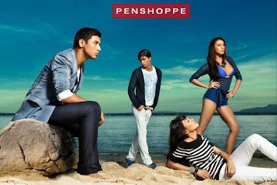 Penshoppe Summer 2011 campaign poster