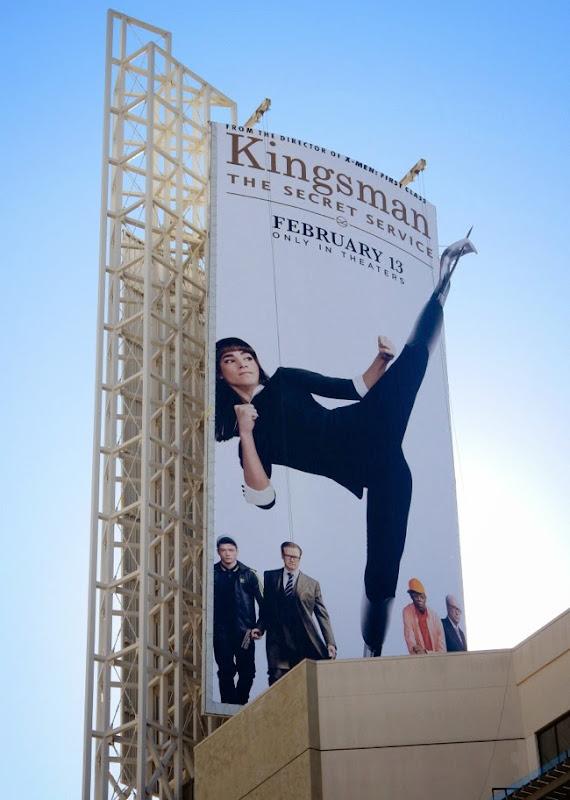 Kingsman Secret Service Gazelle billboard