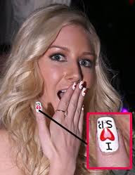 heidi montag chris nail designs