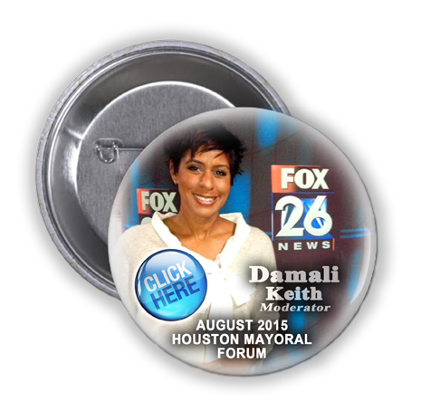 DAMALI KEITH (FOX 26) TO MODERATE THE AUGUST 11, 2015 MAYORAL FORUM HOSTED BY STATE REP. THOMPSON