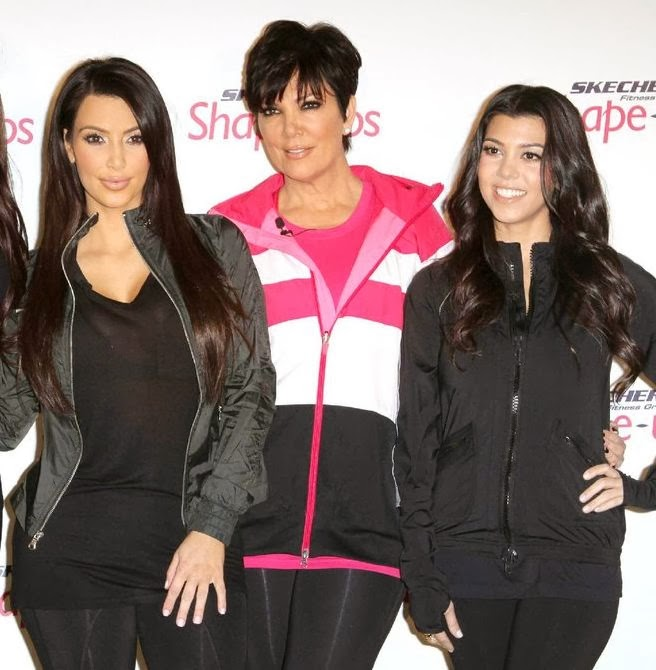 Kim Kardashian, Kris Jenner, and Kourtney Kardashian