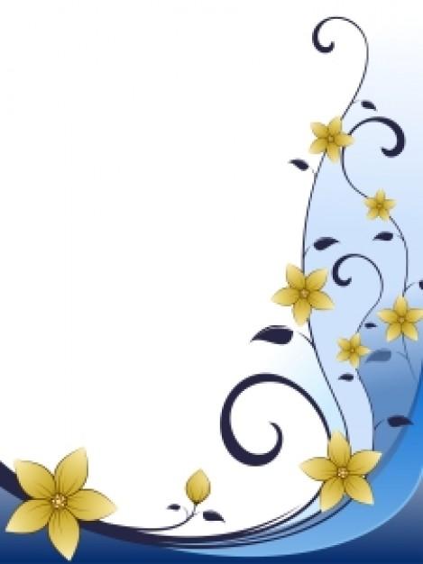 flower photo frame design