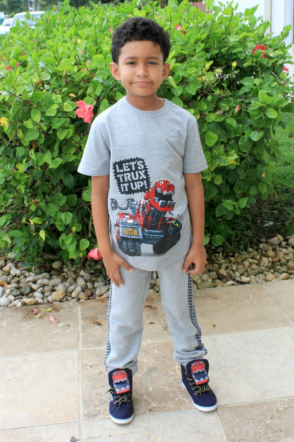 Dinotrux; Fun clothes clothes at Gymboree and a giveaway #GYMxDTRUX #ad