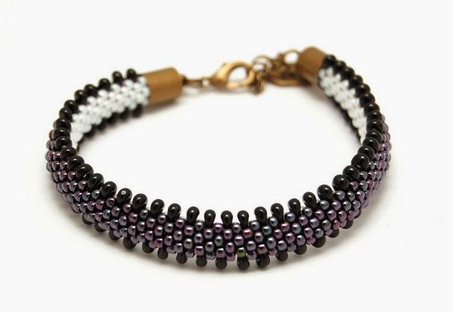 bransoletka koralikowa bead crochet bracelet inati zare 17