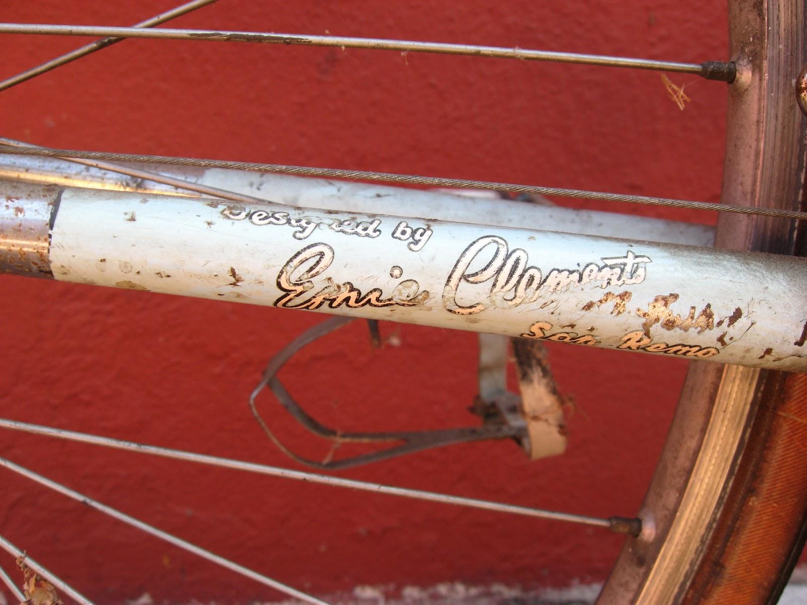 Ernie Clements San Remo decals vintage
