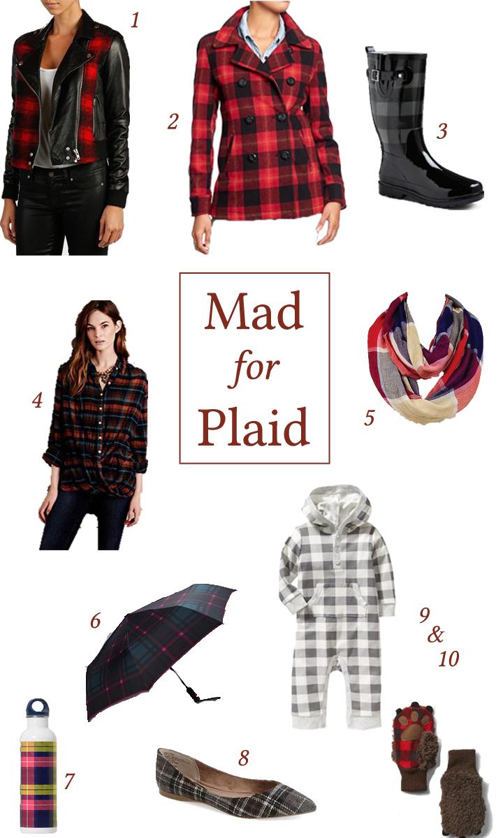 plaid fall styles