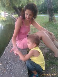 Nepotelul meu Filip si mamica lui