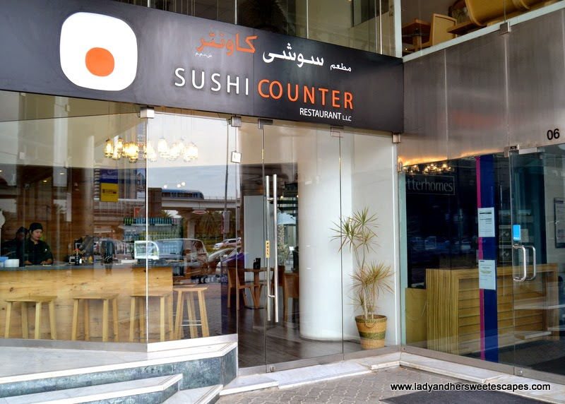 Sushi Counter in Sheikh Zayed Road