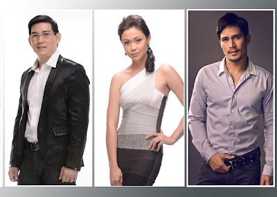 RIchard 'Papa Chen' Yap, Jodi Sta. Maria and Piolo Pascual - Kadayawan