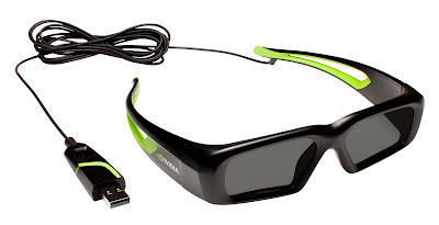 NVIDIA launches Wired 3D Vision Glasses