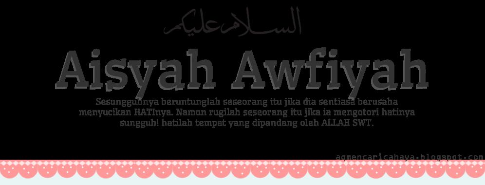 A'isyah Awfiyah