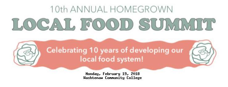 Local Food Summit 2018