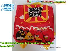 Tas Spunbond Ransel Tali Karakter Angry Birds