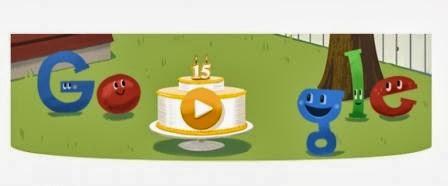 Feliz Quinceavo Googleaño !!