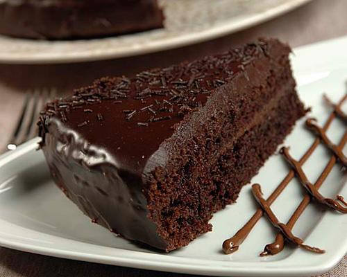 Bolo Guloso de Chocolate