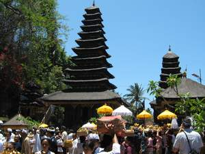 Galungan celebration in Bali a few weeks away, preparations have been made by the Balinese