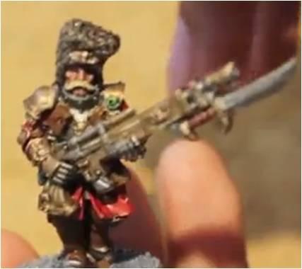 Primer Nacido Vostroyano de la guardia imperial