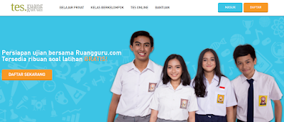 Program Ujian Try Out Online Gratis Dari Ruangguru.com
