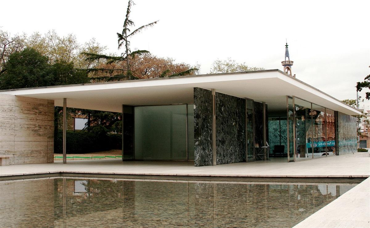Di qua e di la ludwig mies van der rohe architetto e for Progetti di casa in barca