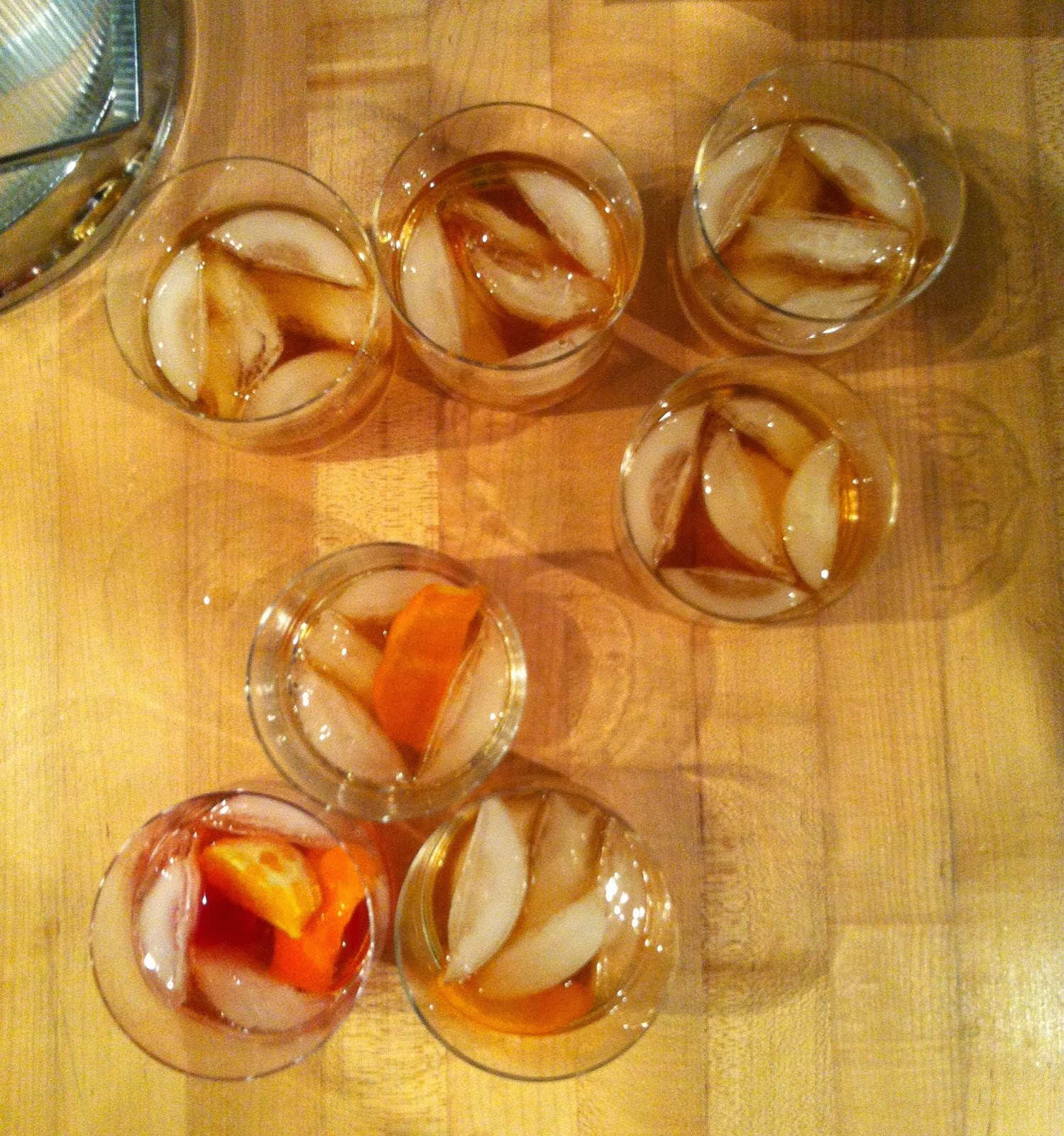 old fashioneds, Texas style @ Southern Spoon blog