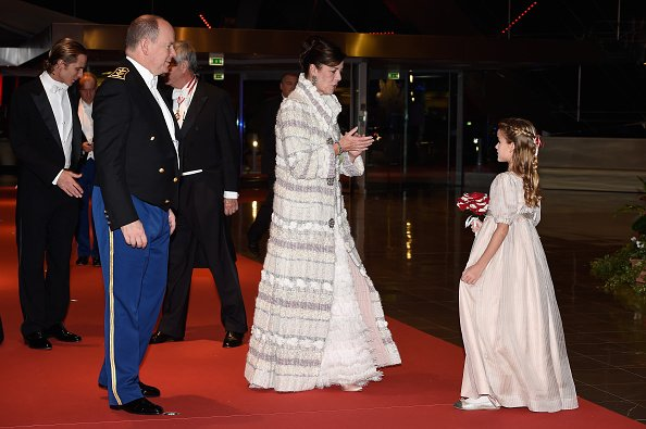 Prince Albert II of Monaco, Princess Caroline of Hanover, Tatiana Santo Domingo and Andrea Casiraghi
