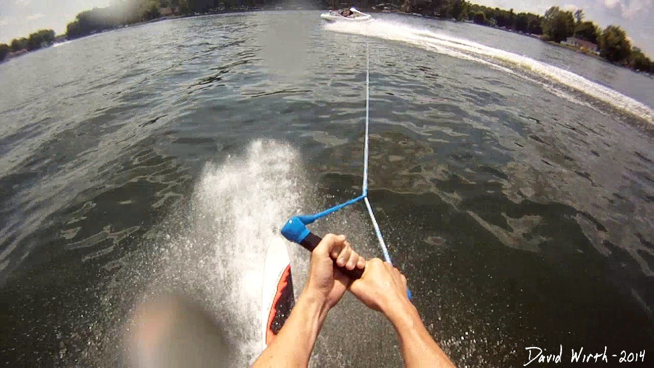 how to water ski, slalom