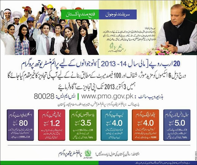 Prime Minister Youth Program 2013-14