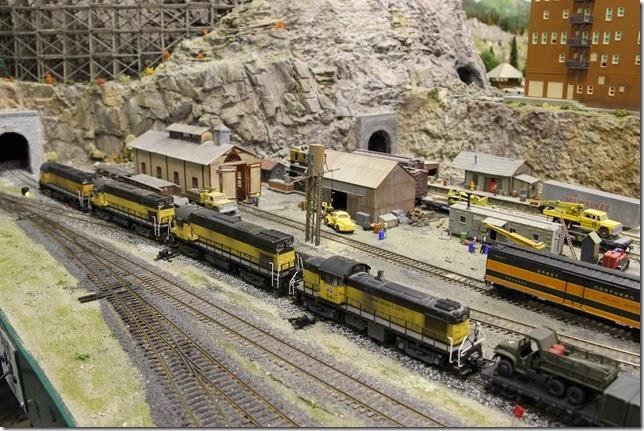 Evergreen Railroad Club Cubbies Invade Evergreen Citadel