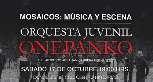Celebrará aniversario la Orquesta Juvenil Onepanko en el Teatro de la Ciudad Esperanza Iris