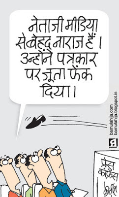 salman khursheed cartoon, congress cartoon, indian political cartoon, corruption cartoon, Media cartoon