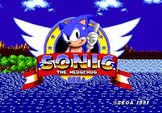 Sonic Sega Genesis