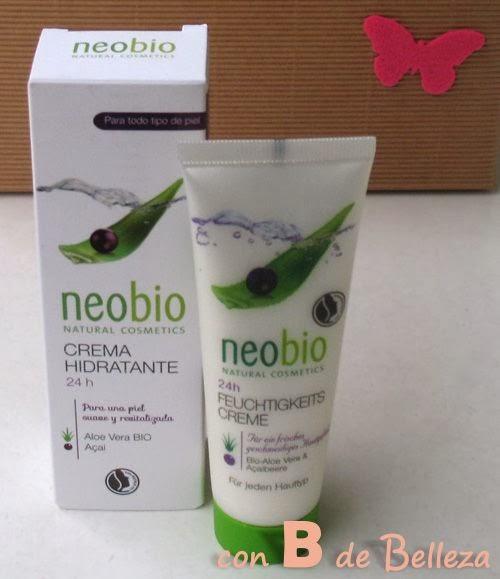 Crema hidratante 24h de Neobio