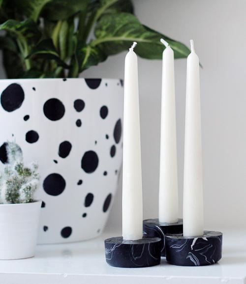 Kerzenhalter als DIY Geschenk zu Weihnachten