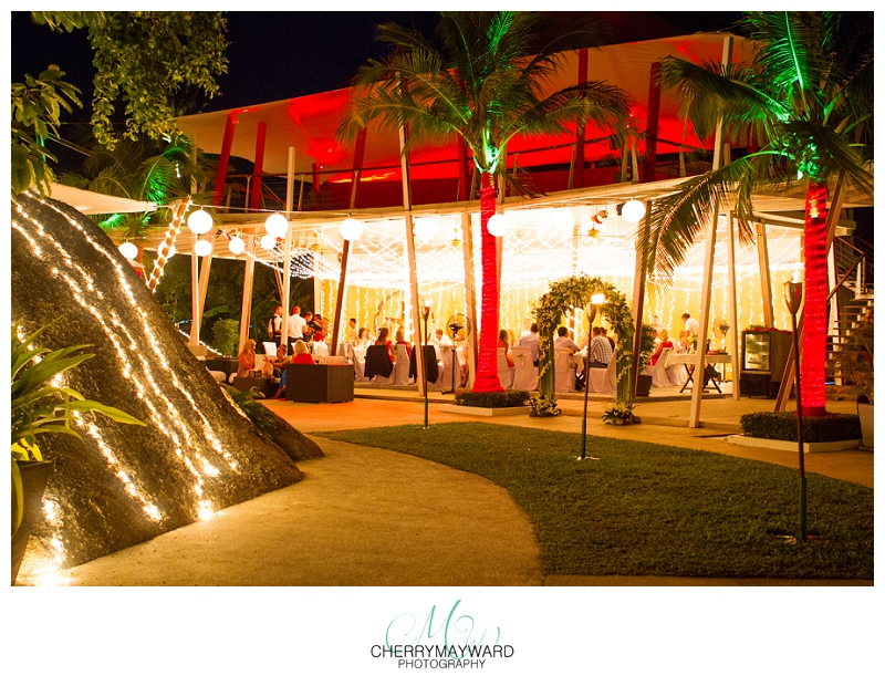 Beach Republic Wedding, Koh Samui Wedding, Beautiful lighting, Wedding in paradise, night lighting