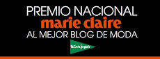 """Premio Nacional """"Marie Claire"""" al mejor blog de moda."""